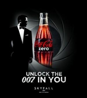 coca cola zero unlock the 007 in you zero Coca Cola Sosyal Otomat Unlock The 007 In You