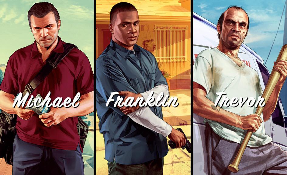 gta v karakterler GTA V Hikaye Modu ve Multiplayer Oynanış Videoları Yayınlandı