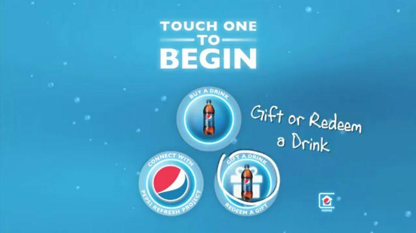 pepsi sosyal otomat makinesi hediye et Pepsi Sosyal Otomat Makinesi