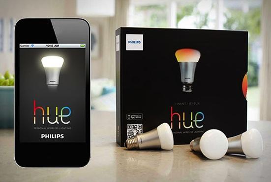 philips hue Philips Hue Akıllı Telefonla Kontrol Edilen Ampül
