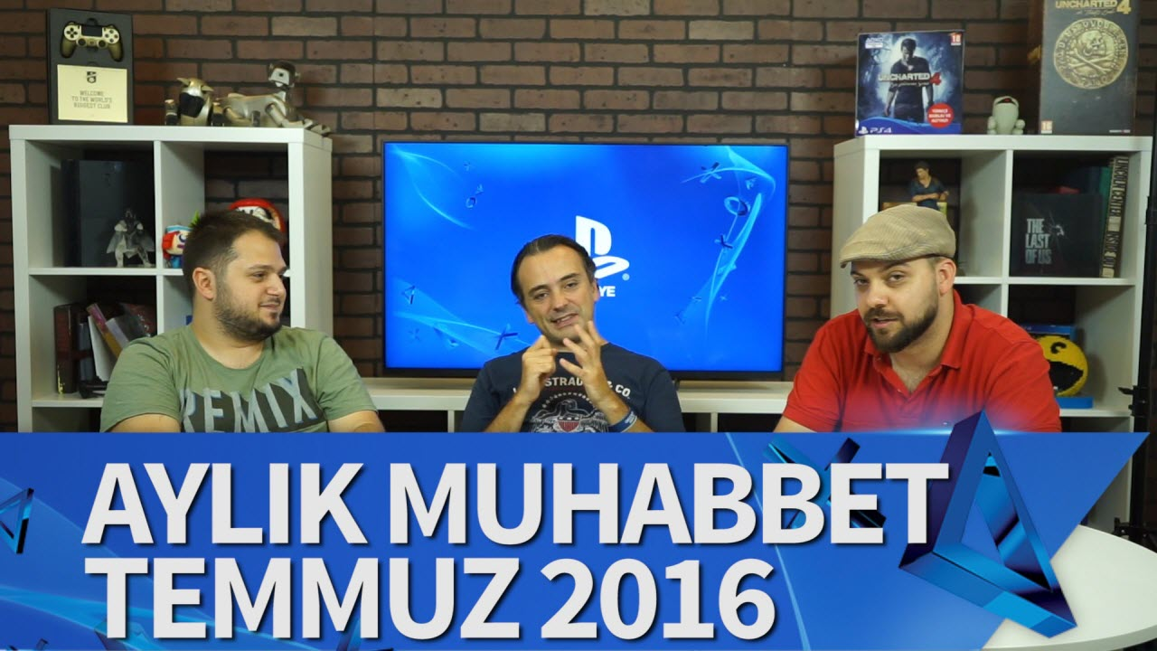 playstation turkiye aylik muhabbet Tech & Oyun Video