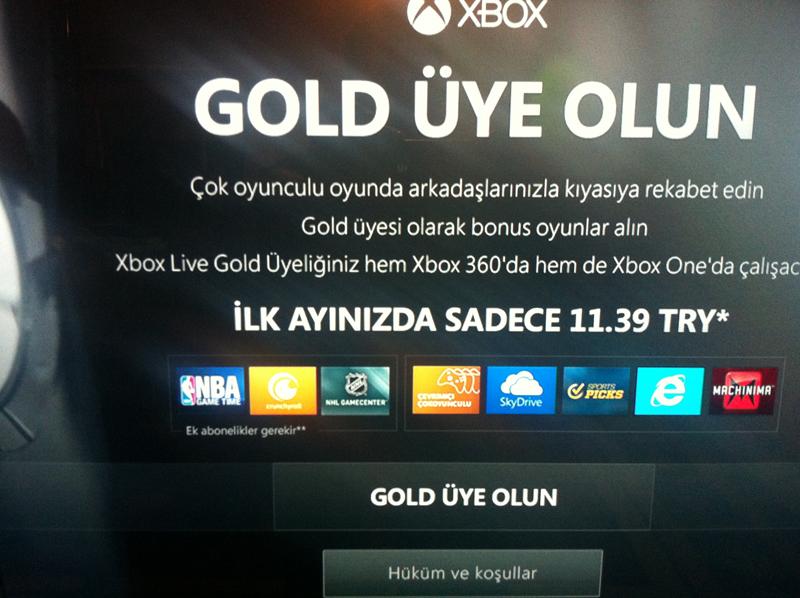 xbox live gold ilk uyelik XBOX Live Nedir? Ne işe Yarar? Gold Üyelik Nedir?