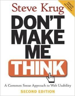 dont make me think steve krug Dijital Pazarlama ve Girişimcilik Ders Kitapları