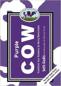 purple cow seth godin mor inek Dijital Pazarlama ve Girişimcilik Ders Kitapları