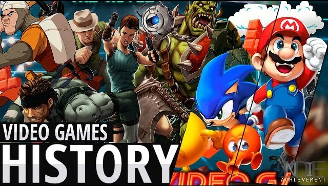 video games history videobanner Efsane Oyunlar