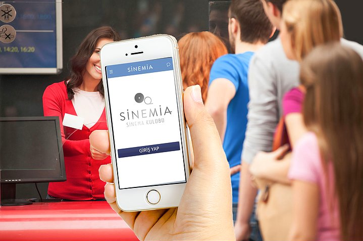 sinemia kullanim Sinemia Uygulaması ile Her Gün Bir Yeni Film