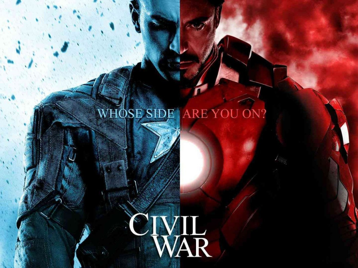 captain america vs iron man Captain America: Civil War Filmi
