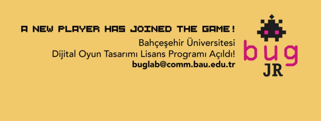 bug oyun gelistirme egitimi bahcehir game lab BUG ile Oyun Geliştirme Eğitimi