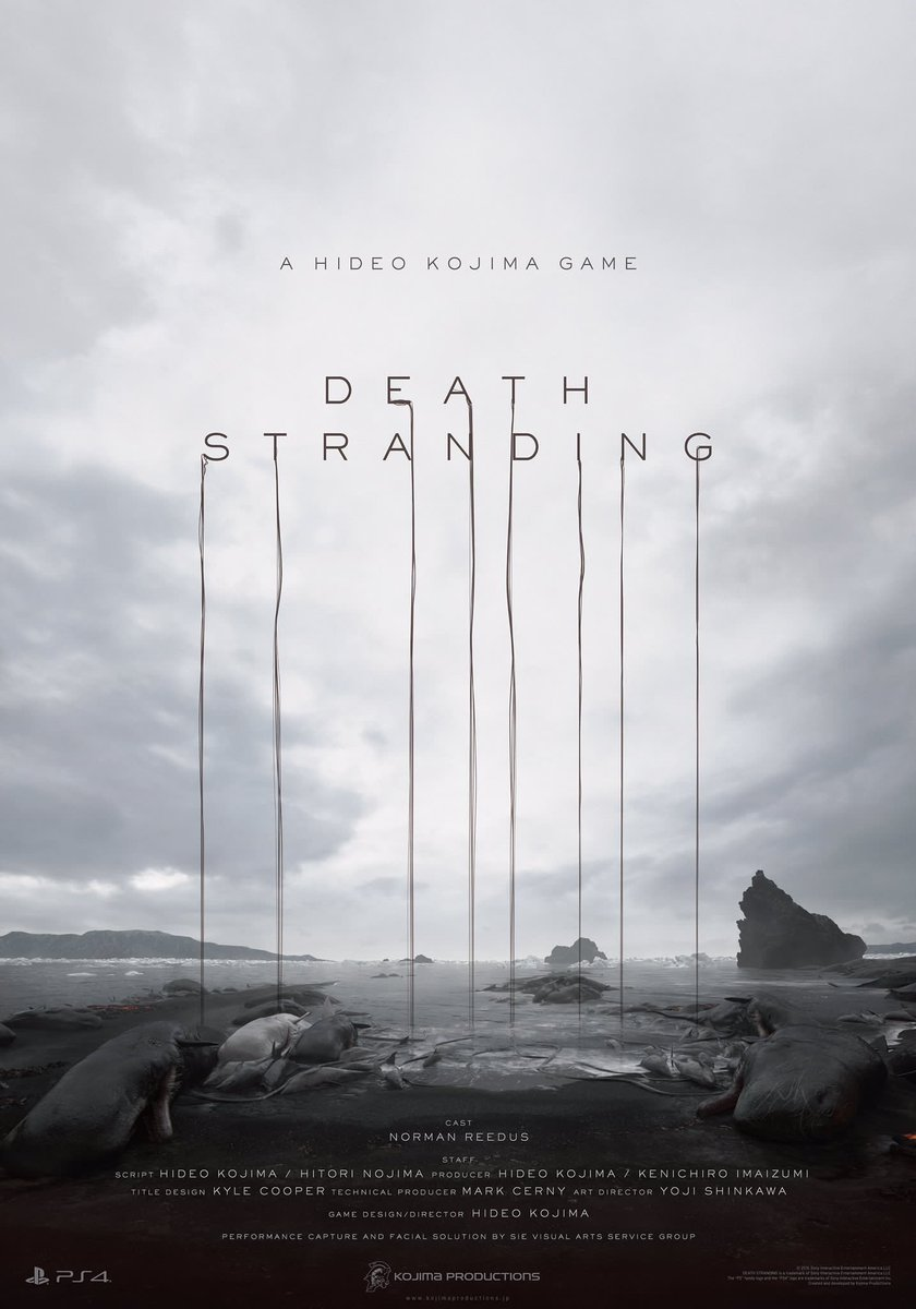 e3 2016 hideo kojima death stranding 2 E3 2016: Hideo Kojimanın Yeni Oyunu Death Stranding Duyuruldu
