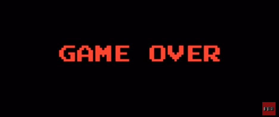 game over pes PES Filmden Etkileyici Stop Motion Game Over Kısa Filmi