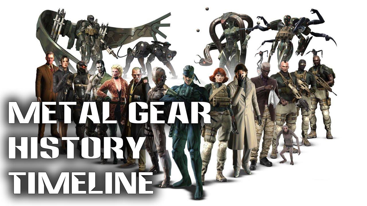 metal gear history timeline Metal Gear Oyunları Hikaye ve Oynanış Sıralaması