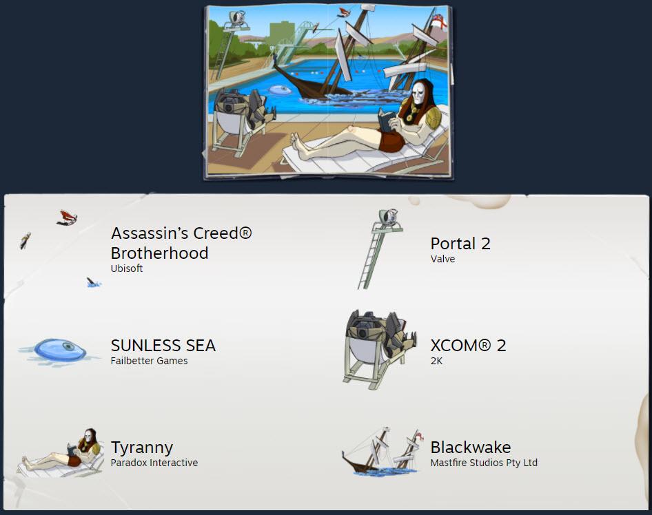 steam cikartma 13 Steamden Yaz İndirimlerinde Gamification Örneği: Sticker Book