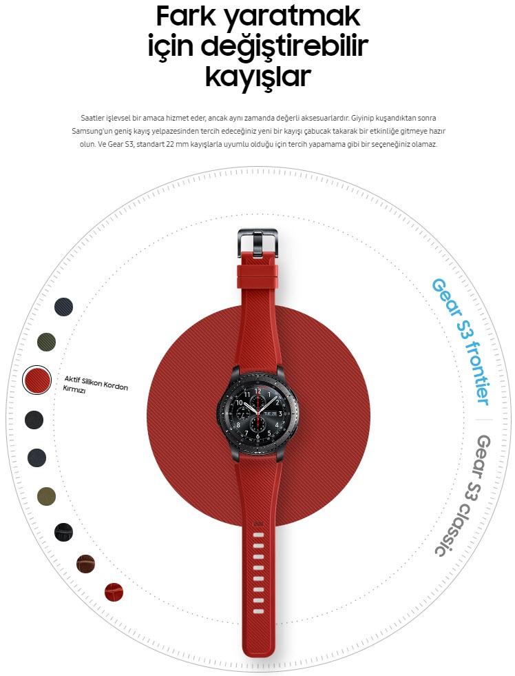 samsung gear s3 design page Yurt Dışından Samsung Gear S3 ve Apple Watch Kordonu Almak