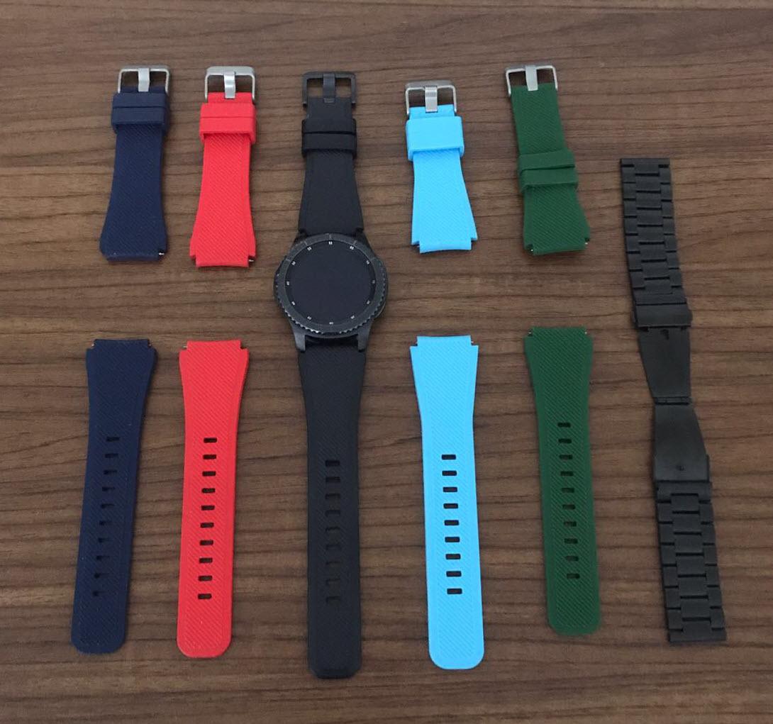 samsung gear s3 kordon Yurt Dışından Samsung Gear S3 ve Apple Watch Kordonu Almak