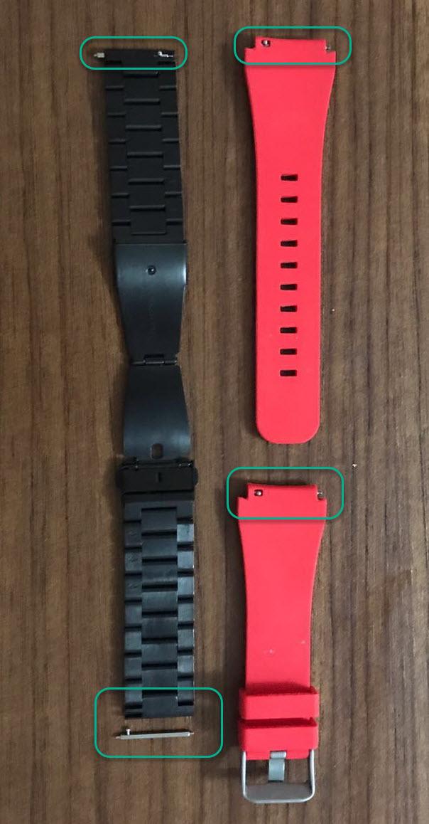 samsung gears s3 pin Yurt Dışından Samsung Gear S3 ve Apple Watch Kordonu Almak
