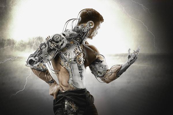 half-human-cyborg