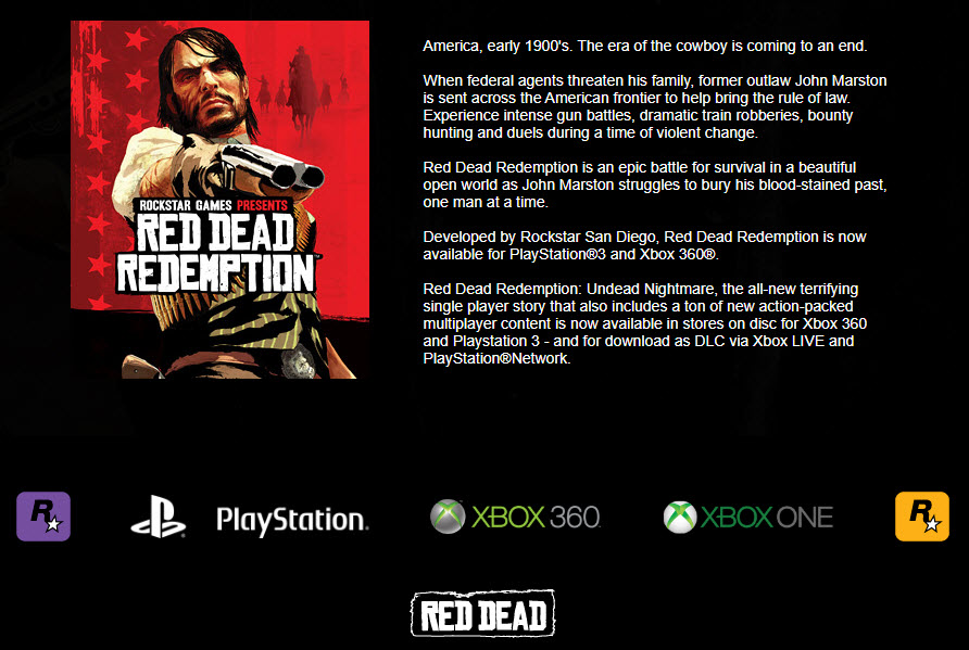 red-dead-redemption-story