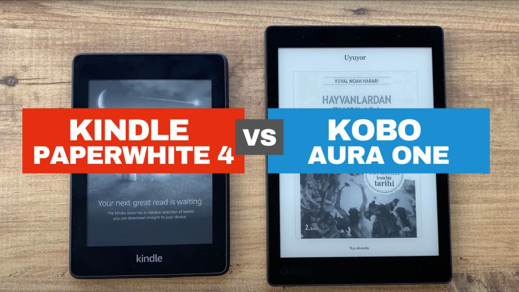 kindle-p4-vs-kobo-aura-volkansel